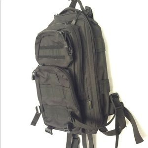 Medium size tactical backpack